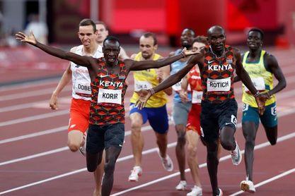 Korir y Rotich regalan un doblete que alivia a Kenia