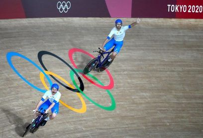 Oro y récord mundial para Italia en persecución por equipos