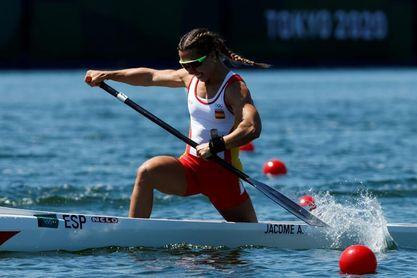 La española Antía Jácome queda en quinta posición en la final del C1 200