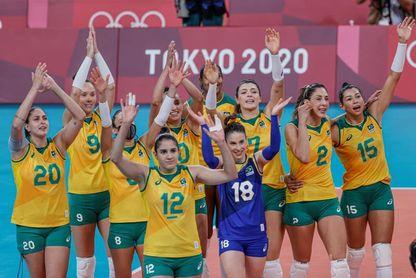 3-0. Brasil volverá a pelear por el oro olímpico nueve años después