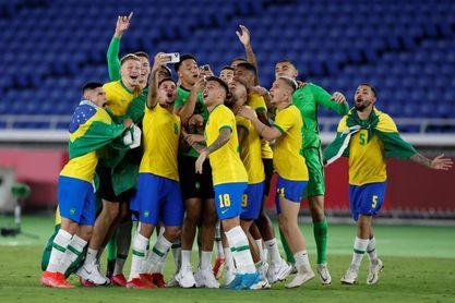 2-1. Brasil revalida el oro