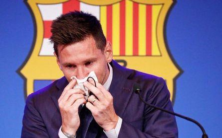 """Messi, destrozado; """"Hice todo lo posible, me bajé el 50%, pero no se pudo"""""""
