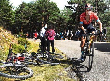 Mikel Landa, al mando de un ambicioso equipo por el podio en la Vuelta