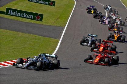 Cancelan el Gran Premio de Japón de F1 por segundo año por la covid-19