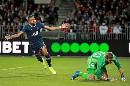 Mbappé lidera el triunfo del PSG en ausencia de Messi y Neymar