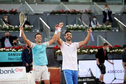 Granollers y Zeballos se proclaman nuevos campeones de dobles masculino