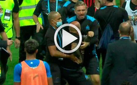 ¡Brutal! Sampaoli, desatado en la pelea contra los hinchas del Niza