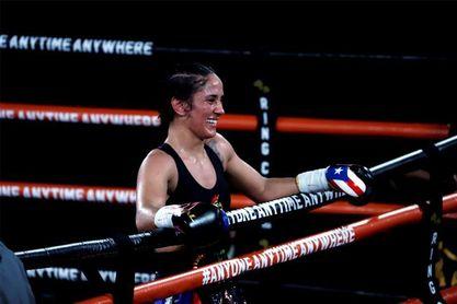La puertorriqueña Serrano se propone romper la marca de 32 triunfos por nocaut