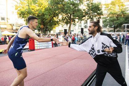 Ilya Ivanyuk se impone en salto de altura con Gianmarco Tamberi quinto