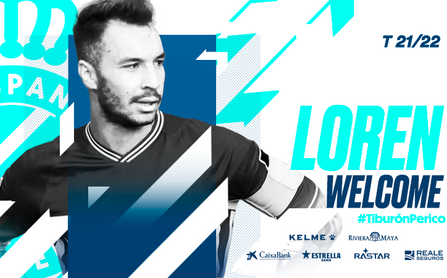 OFICIAL: Loren Morón, cedido al RCD Espanyol