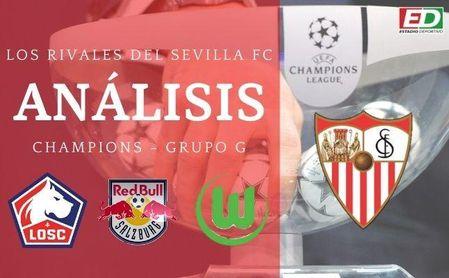 Análisis de los rivales del Sevilla FC en Champions.