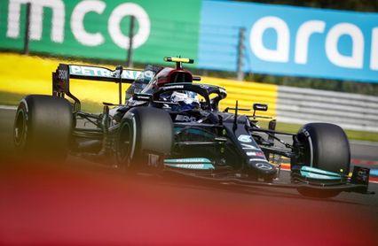 Bottas por delante de Verstappen en el primer libre de Spa-Francorchamps