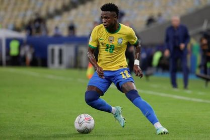Brasil convoca a otros 9 jugadores, entre ellos Vinicius, por veto ingleses