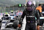 Hamilton: Di todo lo que tenía, ojalá la carrera sea en seco