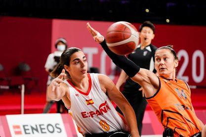 24-63. España pierde con Países Bajos pero logra un histórico pase a cuartos