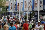 Grandes retrasos en la entrada de aficionados en el primer día del Abierto