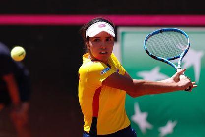 La colombiana María Camila Osorio debuta con triunfo y pasa a la segunda ronda