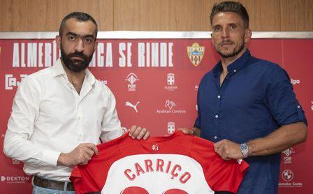"""El exsevillista Carriço, presentado por el Almería: """"Necesitaba volver"""""""
