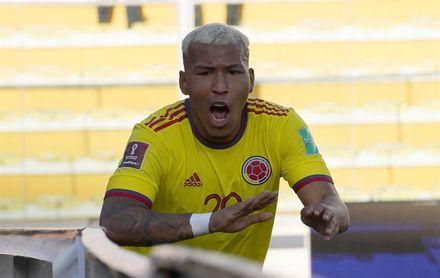 1-1. Saucedo salva a Bolivia de perder ante Colombia en La Paz