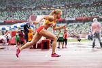 Adiaratou Iglesias vuelve al podium para colgarse una plata en 400