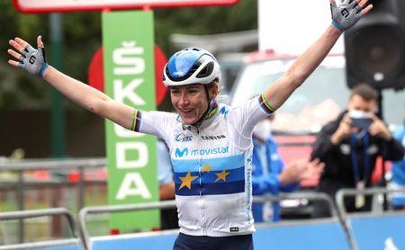 Annemiek Van Vleuten da una exhibición, gana la tercer etapa y es líder