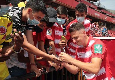 """Arias quiere """"empezar desde cero"""" en Granada y regresar a la selección Colombia"""