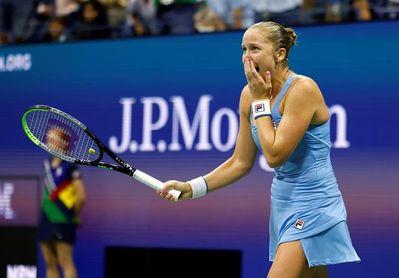 La estadounidense Rogers elimina a Barty y deja al US Open sin la número uno