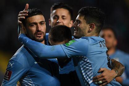 4-2. Uruguay gana con comodidad y se afianza en la clasificación