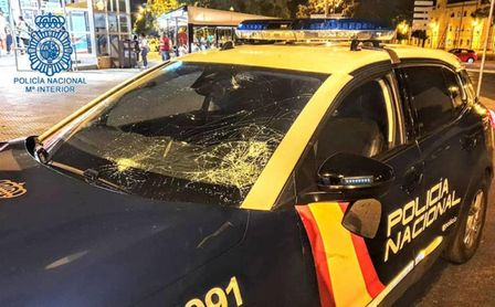 Detenidos cuatro ultras del Sevilla y del Xerez Deportivo por enfrentarse a la Policía en Jerez