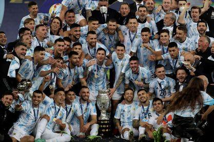 """""""El campeón"""", la canción oficial del triunfo de Argentina en la Copa América"""