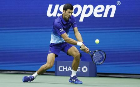 Djokovic sigue perfecto y llega por duodécima vez a los cuartos de final del US Open