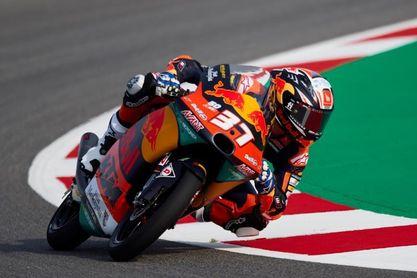 Pedro Acosta, líder del Mundial de Moto3, anuncia su salto a Moto2