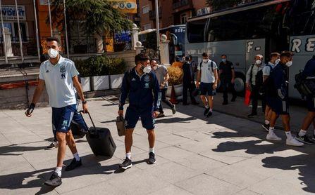 La selección española llega a Pristina, con Reguilón como novedad