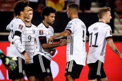 0-4. Alemania firma otra goleada ante Islandia