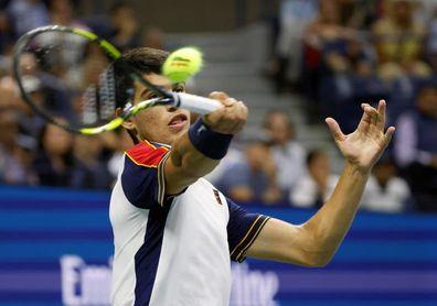 Auger-Aliassime pasa a las semifinales del US Open, por lesión y retirada de Alcaraz