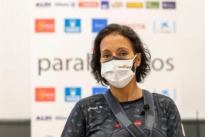 Teresa Perales sigue en un hospital de Tokio sin fecha concreta de regreso