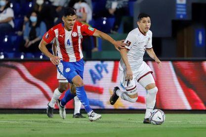 2-1. Paraguay toma aire ante Venezuela con su primer triunfo en casa