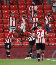 2-0. El Athletic alarga su racha y duerme líder