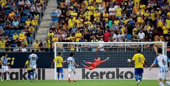 Cádiz CF 0-2 Real Sociedad: Oyarzábal acaba con la resistencia amarilla