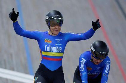 La colombiana Martha Bayona, la gran figura de la Copa de Naciones de Pista