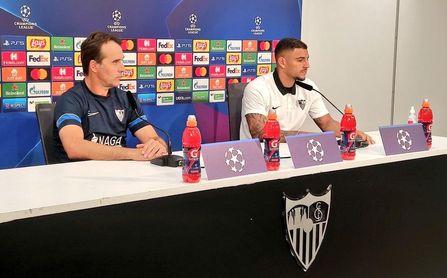 """Diego Carlos rechaza el cartel de favorito para el Sevilla: """"Salzburgo y Lille son campeones de Liga"""""""