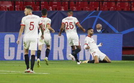 El 'efecto En-Nesyri' y el resultado más probable del Sevilla en el estreno en Champions