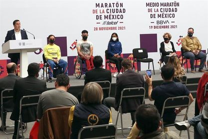 El Maratón de la Ciudad de México reunirá a unos 20.000 competidores