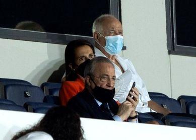 Florentino Pérez, en Milán para el Inter-Real Madrid
