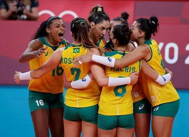 Brasil y la anfitriona Colombia adelante en el Sudamericano Femenino de Voleibol