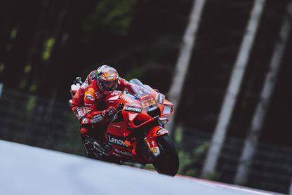 Bagnaia confirma el dominio de Ducati con récord