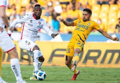 El colombiano Quiñones firma un doblete en la goleada del Atlas sobre el Necaxa