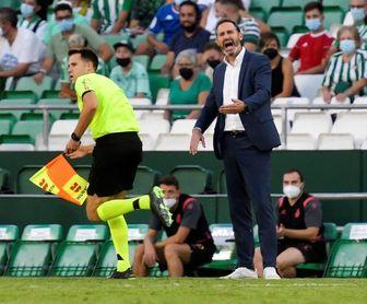 """Vicente Moreno: """"Estuvimos cómodos hasta el posible 0-2"""""""