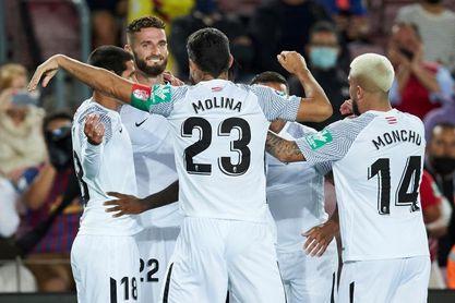 1-1. Araújo evita en el m.90 otra derrota del Barça