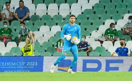 Así ha encajado Rui Silva su inesperada suplencia en el Betis-Espanyol